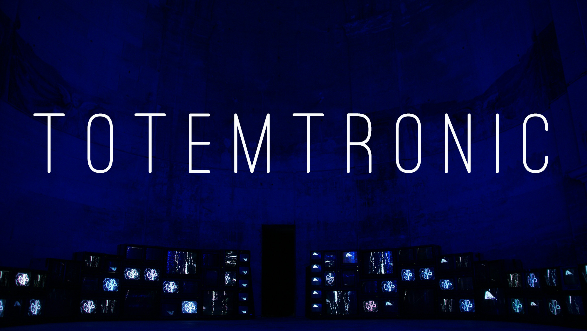 totemtronic art video, installation vidéo